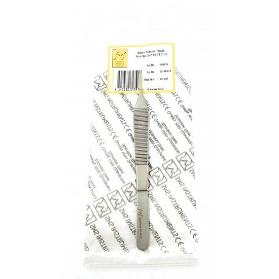 Adson Delicate Tissue Forceps 1x2 teeth 15.5 cm