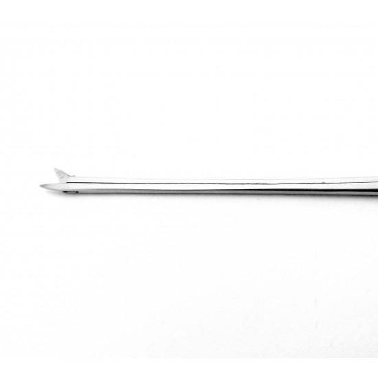 Bellucci Micro Ear Scissors Straight delicate shaft 8 cm