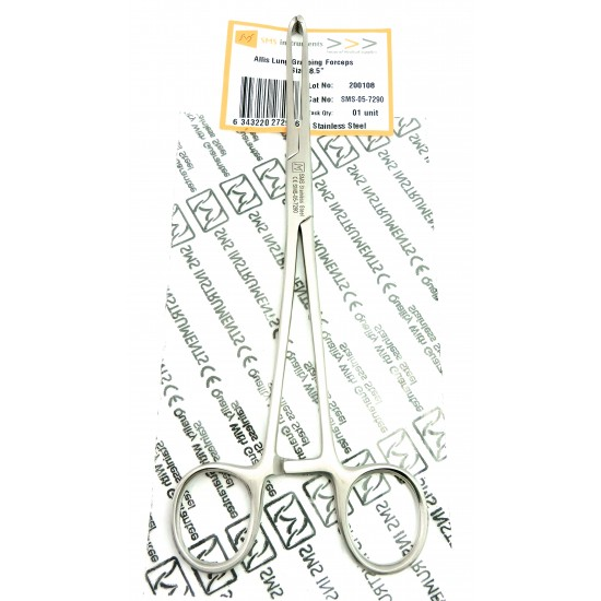 Allis Lung Grasping Forceps 20 cm Stainless Steel