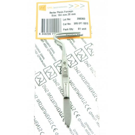 Berke Ptosis Forceps 104 mm 20 mm