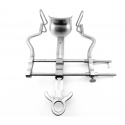 Balfour Abdominal Retractor with Lateral Blades 60 mm deep S Full Set